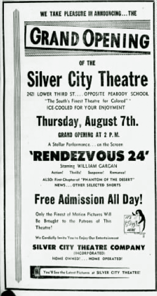 silver city theatre in alexandria la cinema treasures