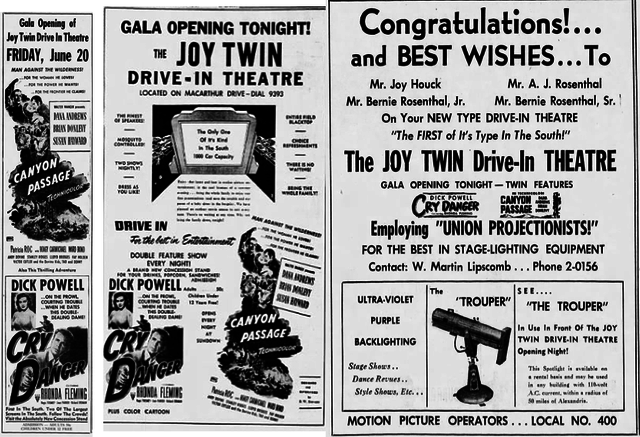 Joy Twin Drive-In