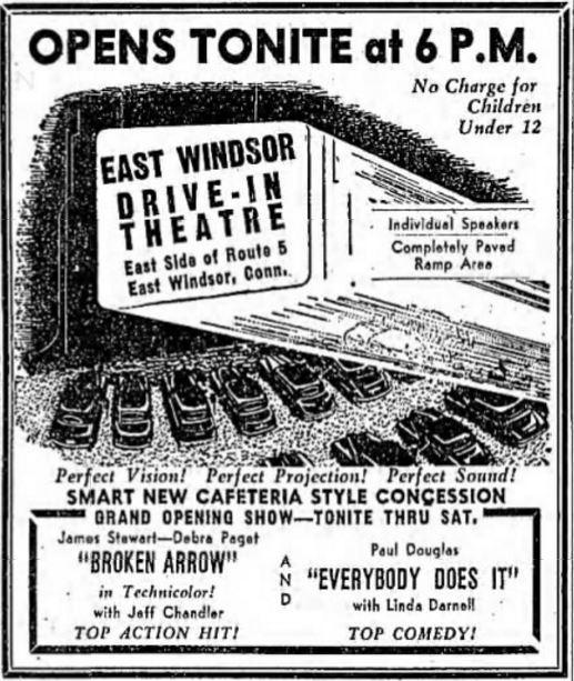 east windsor drive in in east windsor ct cinema treasures. Black Bedroom Furniture Sets. Home Design Ideas