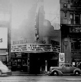 Portola Theatre exterior (1942)