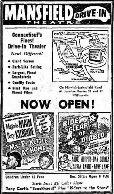 Mansfield Drive In Theatre Mansfield Ct
