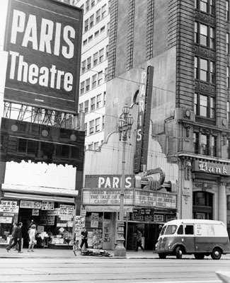 Paris Theatre exterior
