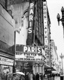 Paris Theatre exterior