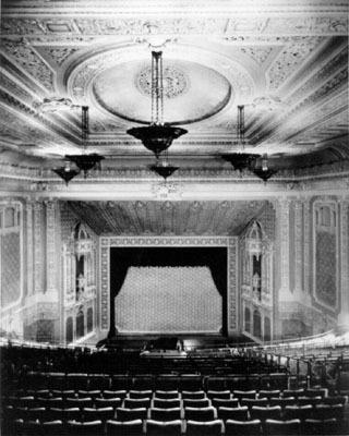 Granada Theatre opening auditorium