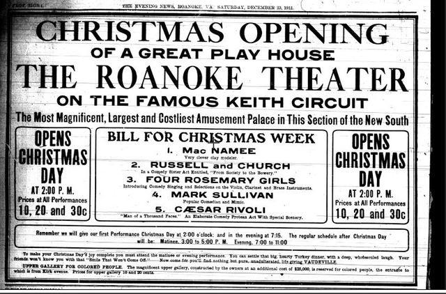 roanoke theatre in roanoke va cinema treasures