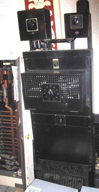 Lorain Palace Civic Center - Original 1928 Vitaphone Control Panel
