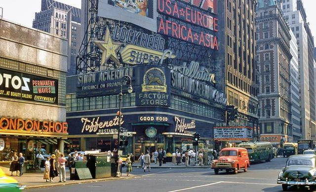 1956 Kodachrome slide. © Dave Gelinas