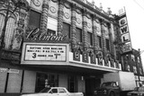 <p>Back when the Belmont turned into a Bowling alley but still had its distinctive marquee.</p>