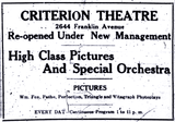 New Criterion Theatre