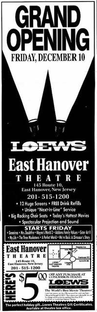 AMC East Hanover 12