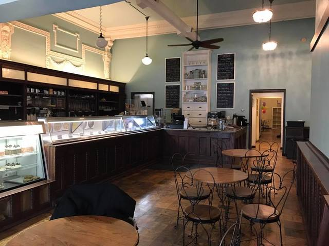More interior photos of the ice cream parlor
