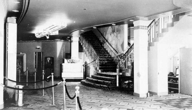 Uptown Theatre lobby area
