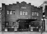 Old photo of Dawn Theater, Hillsdale