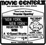 Coral Springs Movie Center