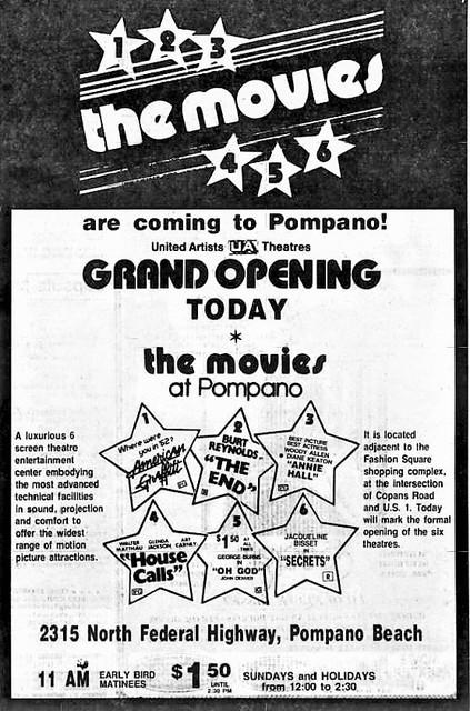Movies at Pompano