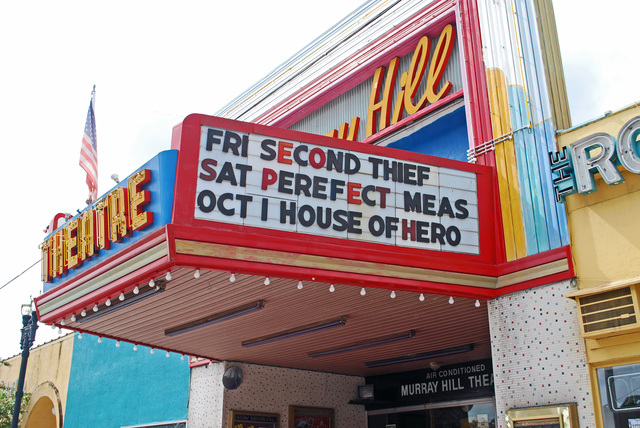 Murray Hill Theatre Marquee