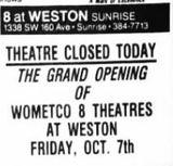 AMC Weston 8