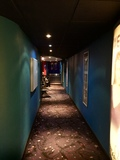 Corridor to screen 1 on closing night