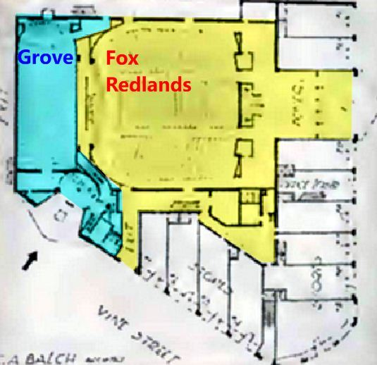Fox Redlands and Grove layout