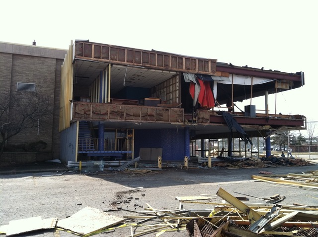 Quo Vadis Demo -North Side of Building Upstairs Concessions