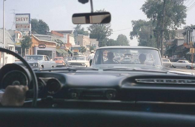 Mid `60's photo courtesy of Bill Kelder.