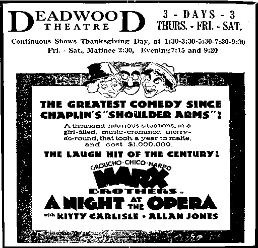 Deadwood Theatre