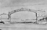 Twin entrance and marquee 1950