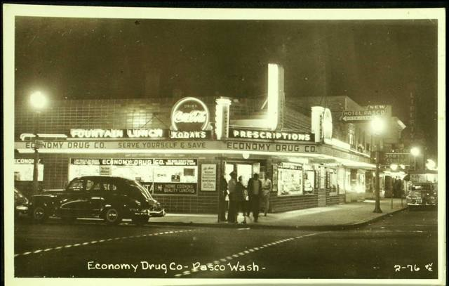 1950's photo credit Vintage Tri-Cities Facebook page.