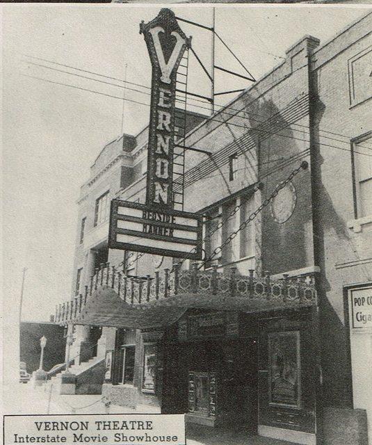 vernon theatre in vernon tx cinema treasures