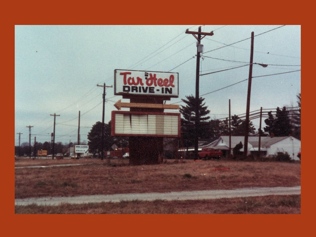 Tar Heel Drive-in sign
