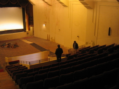 El Rey auditorium from rear 2010