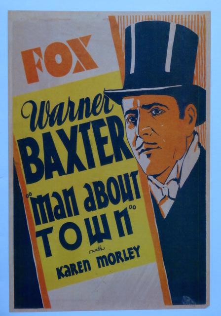 Exterior panel advertisement 1932
