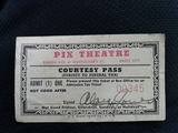 Pix Theatre Courtesy Pass
