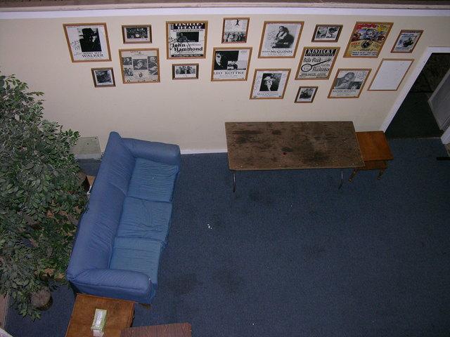 Backstage (Blue Room)