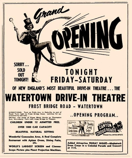 Grand opening ad, via Flickr