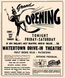 Grand opening ad, via Flickr