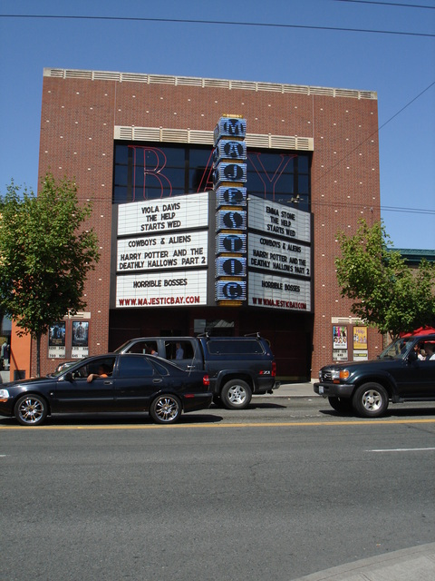 Front, marquee