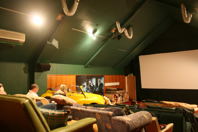 The Cinema Paradiso screening room