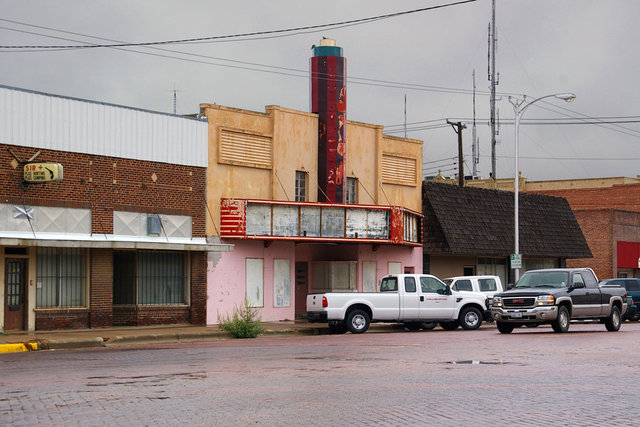 La Vista Theatre  Pampa, Texas