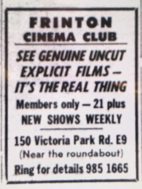 frinton cinema club hackney