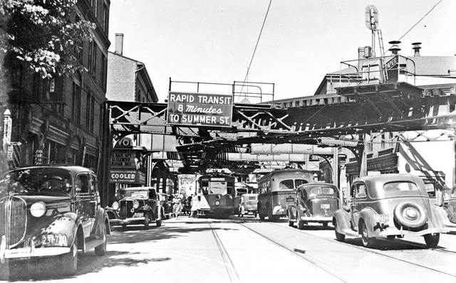1939 photo courtesy of the Boston Public Library.