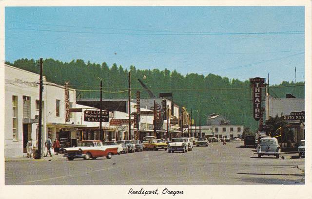 Circa 1960 postcard courtesy of Paul Jeffries.