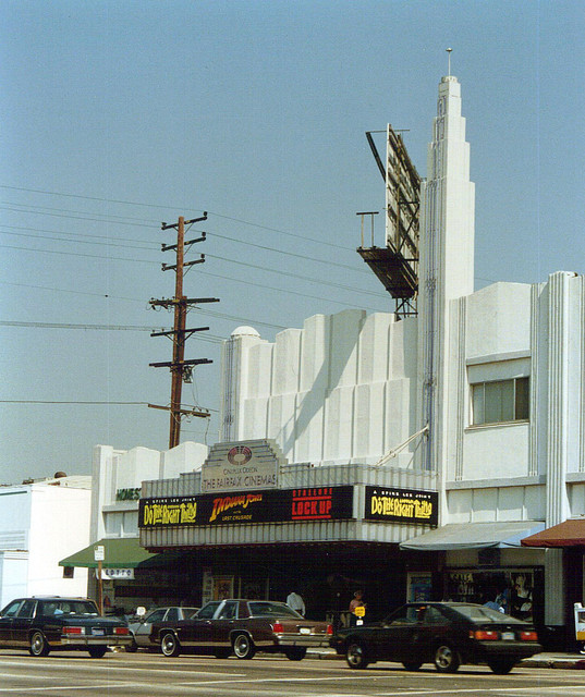 Cineplex Odeon's Fairfax Theatre exterior