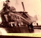11/12/37 ‎Clarick Theatre fire photo courtesy of Lynette Warneke Gray‎.
