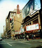 Metropolitan's Roxie Theatre exterior and the nearby Cameo Theatre