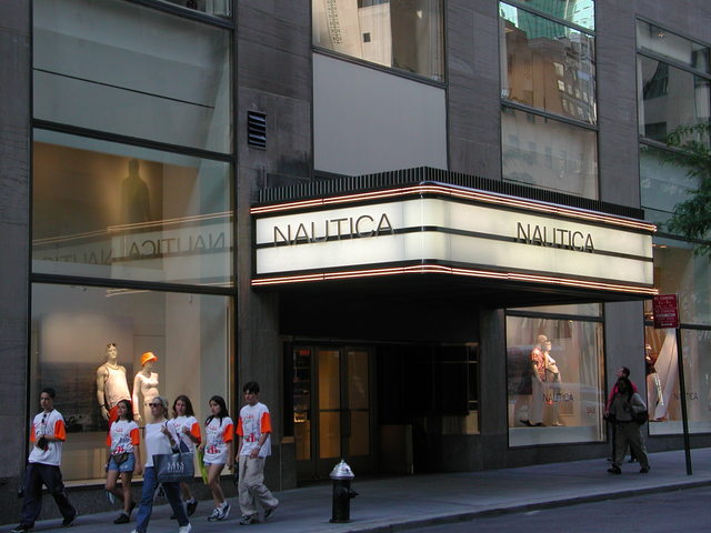Guild Theater (Nautica Store) - 2001