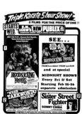 Late seventies handbill
