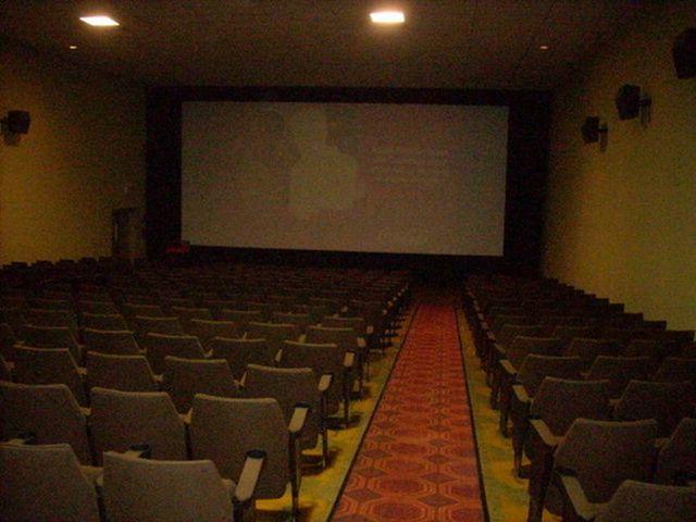 Cinema Movies 1,2,3.  inside