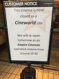 Goodbye Cineworld