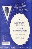 Stoke Newington ABC Savoy programme cover